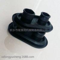 厂家加工汽车橡胶配件护线圈 圆形过线器 耐磨橡胶圈配件