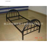 港文自主生产直销单层铁架床, 简约单人铁床定制, 铁架床单人位,型号GW-S1007