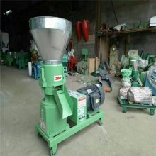 羊饲料平模颗粒机 小型家用颗粒饲料机 对辊鸡饲料机制粒机