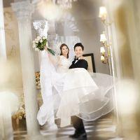 重庆九龙坡区婚纱照90后韩式唯美婚纱照摄影