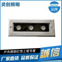 LED户外IP67工程款地埋灯厂家 广东灵创照明专业生产地埋灯 质量上乘 服务优质