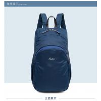 2018新款背包户外折叠旅行包防水双肩登山包休闲尼龙防雨耐磨学生老人背包