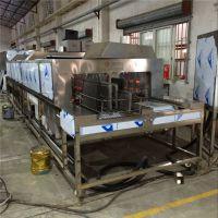 供应工业用通过式佛山洗筐机厂家,JHD-4000FS高压喷淋清洗机高效清洁烘干-佳和达