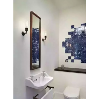 天水城市人家小户型卫生间装修效果图