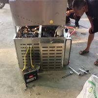 济宁康乐果机 小作坊7用膨化机供应 四缸四冲膨化机