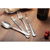 牛排刀叉不锈钢刀叉勺三件套 西餐餐具刀叉套装牛扒餐具