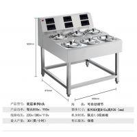 顺艺数码煲仔饭机双层单列6头机具备多功能