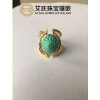 【绿松石镶嵌】珠宝首饰个性镶嵌