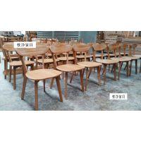 上海浙江实木桌椅,欧式西餐厅牛角椅生产厂家