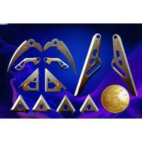 尖角刀片加工、三角刀片订做、箭头刀片厂家、狩猎刀片生产厂家