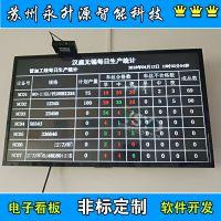 厂家定制车间生产统计看板 可视化管理看板 计时计数显示屏液晶屏