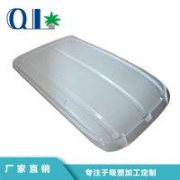 深圳东莞厚片吸塑加工厂家提供观光观车顶棚电动车顶棚吸塑产品定制