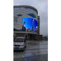 遵义居然之家180平方户外p10LED大屏幕安装厂家
