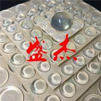 带3M不干胶自粘透明防滑胶垫,透明亚克力高弹性防滑脚垫