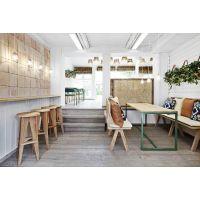 厂家直销定制实木家具小户型餐桌,定制餐厅酒店咖啡饭店桌 上海香澜
