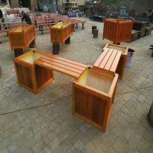 直销各种实木花箱供货商,实木组合花箱批发,制作厂家
