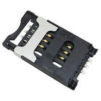 东莞 SOFNG SIM-007 尺寸:30.0mm*17.4mm*2.5mm SIM卡连接器