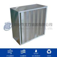 GYK大风量空气过滤器 高效有隔板空气过滤器