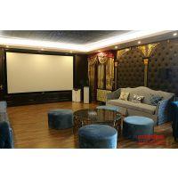 别墅私人影院装修设计简单吗