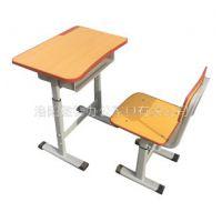 济源小学生家用课桌椅 新乡双人学生课桌椅批发