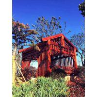 菠萝格木材加工注意事项|菠萝格花架与实木小屋|组合式凉亭架