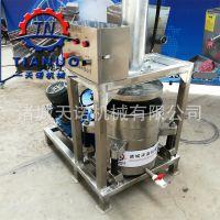 米酒压榨机 苹果醋饮料压榨收汁机 全自动液压立式果蔬压滤设备