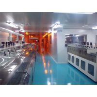 禄米科技提供车间装修 工厂隔墙 净化工程 无尘室 定制彩钢板工程