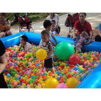 儿童玩具海洋球批发价室内充气城堡滑梯广场必备游乐设备