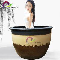 新品陶瓷洗浴缸1米1景德镇水缸泡澡缸定做 日式韩式洗浴大缸厂家