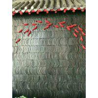 青瓦仿古瓦装饰立瓦影壁墙镂空隔断瓦半圆瓦克定制尺寸青瓦青砖