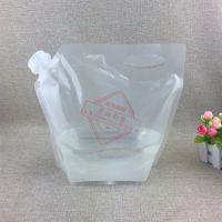 现货供应5公斤芝麻酱大骨汤汁塑料包装袋定制10斤液体饮料食品袋生产厂家