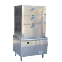 方宁商用电磁万能蒸柜三门海鲜蒸柜抽屉式蒸柜