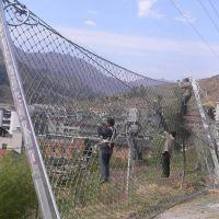 隆恩安装菱形被动防护网 RX-075被动防护网施工
