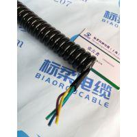 上海标柔螺旋弹簧电缆