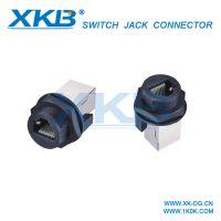 RJ45防水连接器IP67Without Plug, 防水RJ45连接器 星坤XKB品牌防水插头圆形