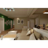 青岛阔达装饰:现代时尚简约两居室设计
