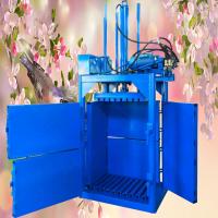 佳鑫废塑料瓶压块机 山东易拉罐塑钢打包机 秸秆液压打包机厂家