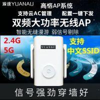 源速1200M无线5G双频AP大功率企业级酒店餐厅宾馆WIFI工程覆盖中文SSID