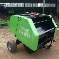 厂家直销拖拉机带动麦秸捡拾粉碎打捆机苜蓿草麦草捡拾打捆机