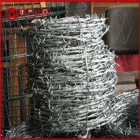 钢丝刺绳 围栏钢丝刺绳 带刺防护网价格行情