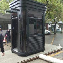 深圳厂家特价钢结构阳光房小区不锈钢收费保安岗亭移动门卫值班室