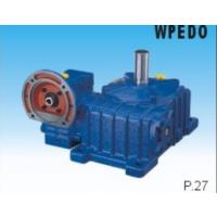 WPWE系列双级蜗轮蜗杆减速机、可带电机法兰、可配电机、杭州万杰
