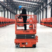 沈阳厂家定制12米液压轮全自行式升降平台 高空作业车