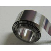 深圳现货1/2H 201不锈钢精密带 半硬不锈钢镀镍弹簧片 中硬带