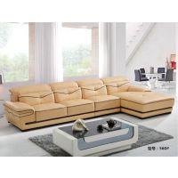现代家用真皮沙发订做,真皮沙发组合