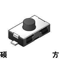 台湾硕方品牌 TS-1111 防水微型方形轻触开关