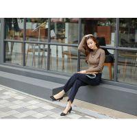 便宜打底衫批发时尚低价加绒裤厂家一手货源韩版女装批发