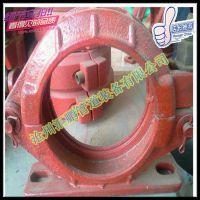 125泵管管卡 混凝土砂浆泵80管卡 泵车管卡量大优惠厂家直销