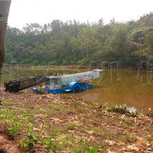 南京水草收割用什么设备 专业环保割草船