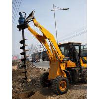 出售电线杆钻眼机 水泥杆挖坑机报价 鼎力电力工具